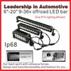 NSSC Top quality 20inch led driving lights bar, cree offroad led light bar