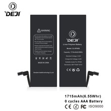 wholesale 1724mah mobile phone battery for Iphone 6s original, li ion batteries for iphone 4 4S 5G 5S 6G 6S 7 plus all models