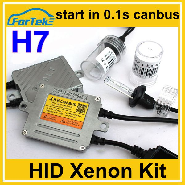 55w quick start canbus xenon hid kits h1, h3 , h7, h11, 9005, 9006