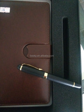 factory direct sale a5 diary notebook with pen at cheap price