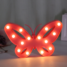Factory Low Price Sale Animal Led 3D Butterfly Motif Light
