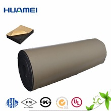 Cheap black closed cell adhesive backed foam rubber sheet for sale
