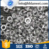 ISO Bushing Galvanized Malleable iron Pipe Fittings
