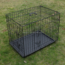 "18""24""30""36""42""48""Folding Metal Wire Pet Dog Cat Crate Kennel Cage"