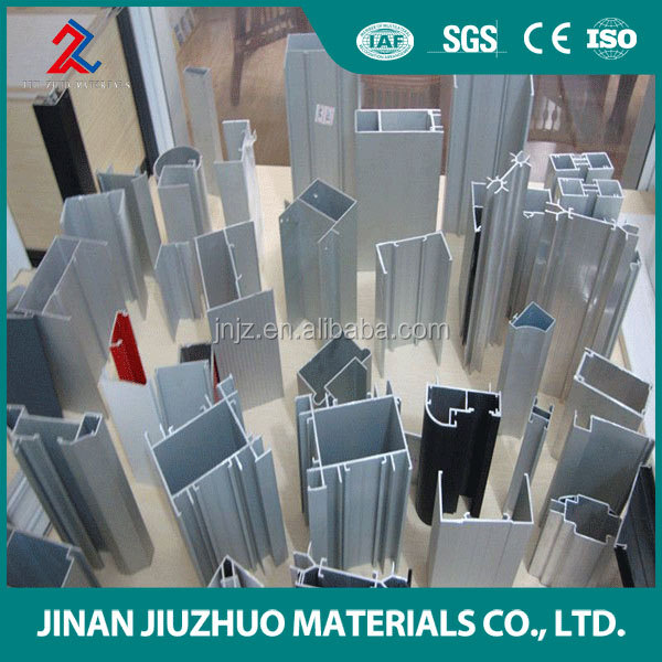 2016 custom design high quality aluminum alloy metal polished extrusion profile with different shapes