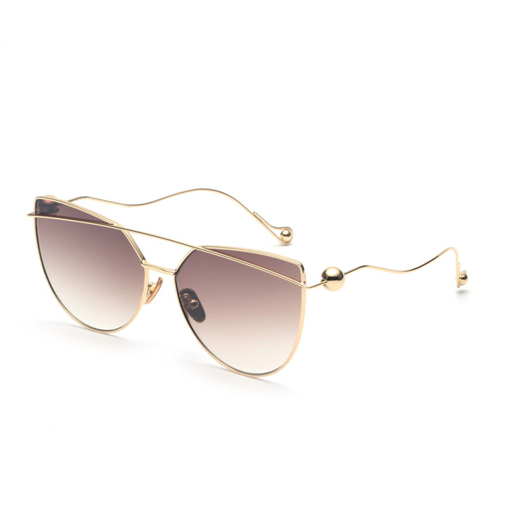 2018 CE Best Fashion Europe Style Cat Eye Futuristic Sunglasses