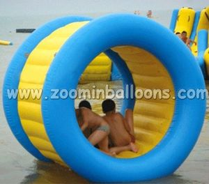 New commercial inflatable water roller,inflatable roller ball at low price WB10