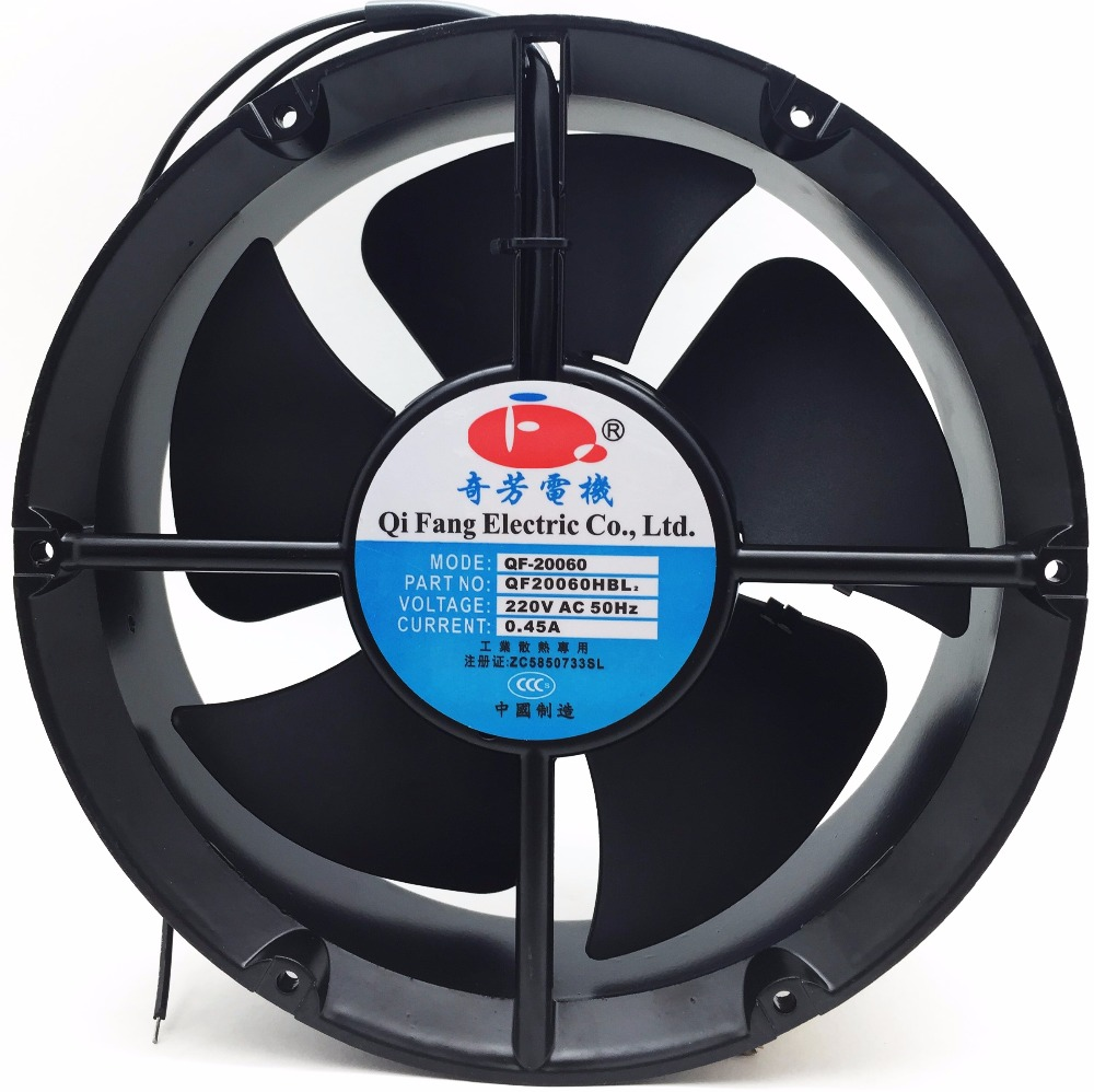 low noise ac radiator <strong>fan</strong> big CFM 200MM 20060 axial flow <strong>fan</strong> 200x200x60