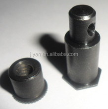 OEM excellent quality brass hole fasteners,cnc steel hole fasteners