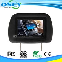 7 inch 800*480 Car Headrest LCD Car Monitor With CE & RoHs