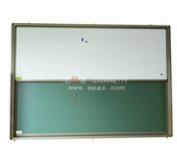 Hot sell wall mounted magnetic Whiteboard With Roller For Sliding Up And Down