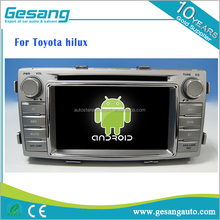 factory android 6.0 2 din universal car dvd player for Toyota