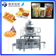 Automatic stand-up bag packing machine for freeze dried blueberry