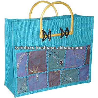 wholesale ethnic patchwork shopping bags