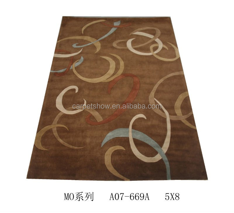 Hand woven tight customer design modern area rugs hand tufted rug