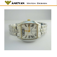 2014 new products stainless steel back water resistant stainless steel watch geneva quartz mens wrist watches