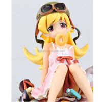 wholesale 18cm Story Oshino Shinobu pseudo second generation small tolerance donuts Japanese anime action figure supplier