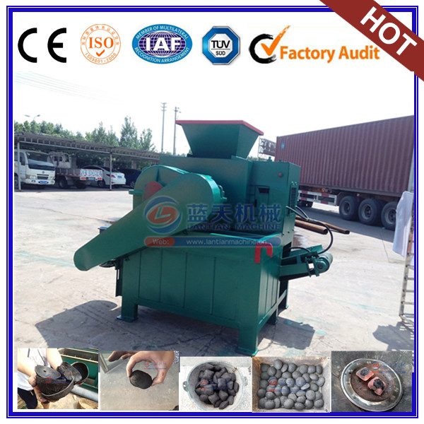 Best selling coal and charcoal briquette making machine
