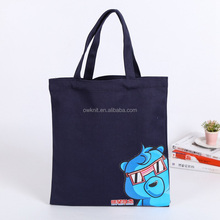 Cotton Canvas Full Color Cartoon Printing Durable Tote Beach Bag