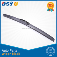 Motorcycle Accessory Auto Glasses Boneless Wiper Blade with wiper blade cover rubber