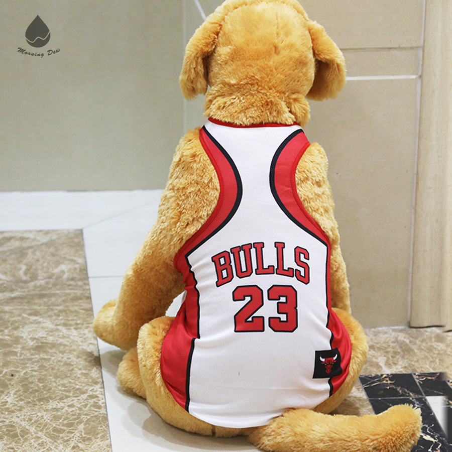 2018 hot style World cup pattern Basketball team Big XXXL dog clothes