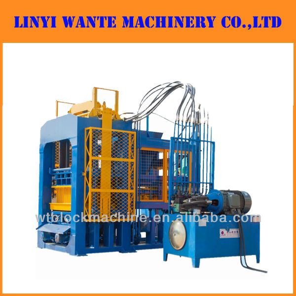 QT9-15 fly ash adobe brick making machine
