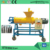 Manure sludge dewartering screw press solid liquid separator