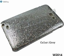Silver Color Bling Glitter Hard Back Cover Case For Samsung i9220 Galaxy Note N7000