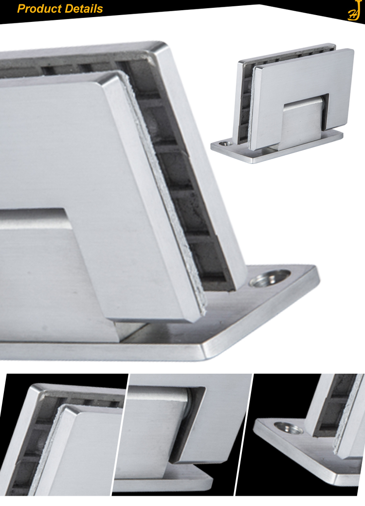 Heavy Duty Glass : Adjustable two way heavy duty stainless steel glass shower