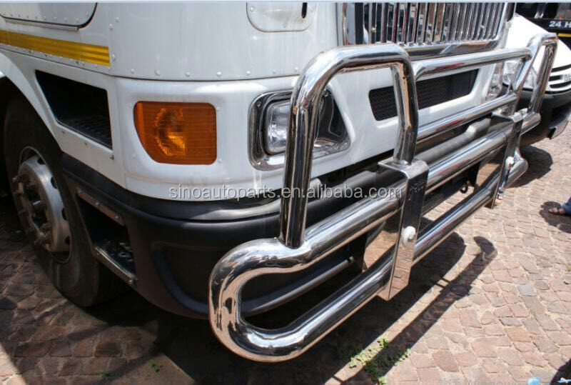 304 stainless steel Deer Guard FOR INTERNATIONAL 9800 TRUCK BUMPER