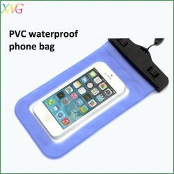 Promotion gift Bulk Cheap Custom PVC mobile phone waterproof bag for Iphone