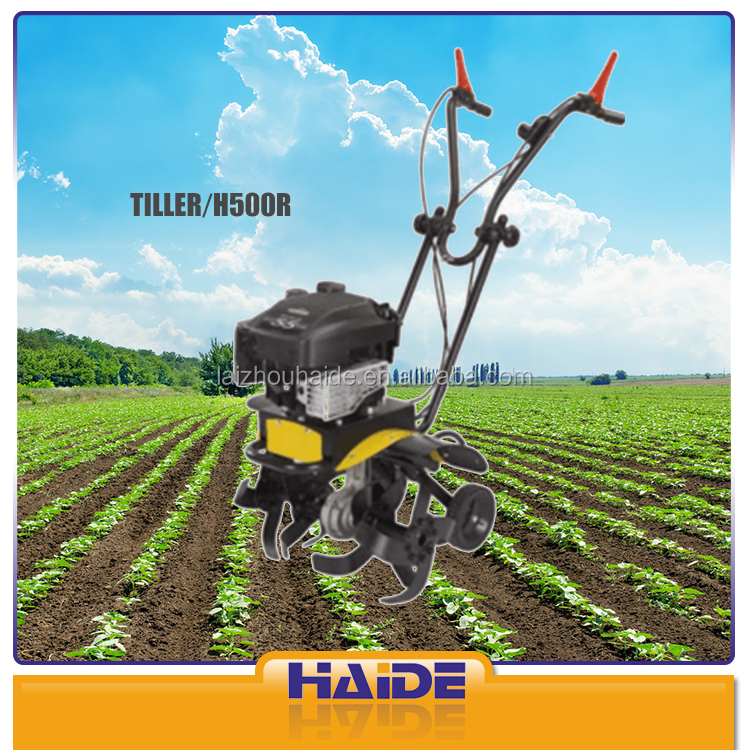 Agricultural mini tiller cultivator H500R brush cutter tiller for sale