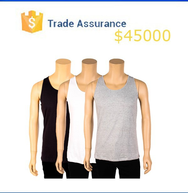 Alibaba Design Tank Top Man Custom Blank Tank Top Summer Cheap Tank Top