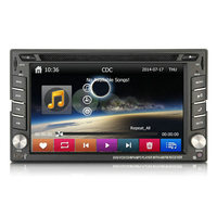 2 Din Double Din Universal Car DVD GPS 256 MB RAM with Radio,Bluetooth,USB/SD,Steering Wheel