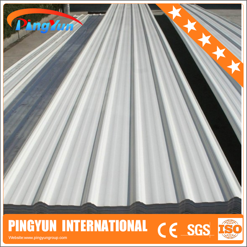 corrosion resistant one pvc roof tile/heat insulation 3 layers plastic roofing sheet/impact resistant pvc plastic roof tile