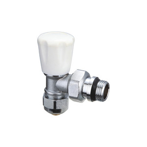 T201 High Quality 90 Degree 2-Way Brass Radiator Valve Angle Valve