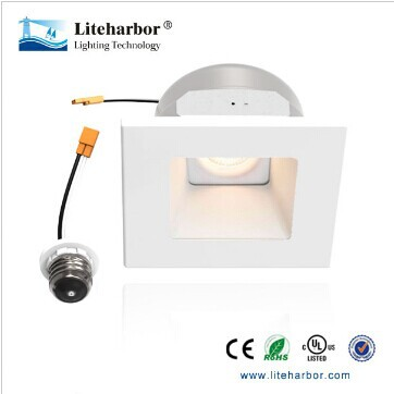 "10 Watts 4 Inch 4"" White Ceiling Recessed Mount Retrofit Square LED Lights"