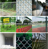 High Quality PVC Coated and Glavanized Cyclone Wire Mesh Fence/Diamond Mesh/Chain Link Mesh Fence Manufacturer