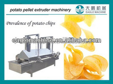Automatic potato chips frying machine from jinan eagle company