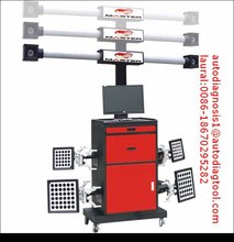 4 choices with different prices 3D four wheel alignment
