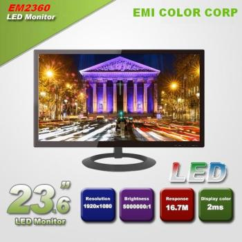 23.6 inch Superior 1920 * 1080 Full HD Gaming LED Monitor