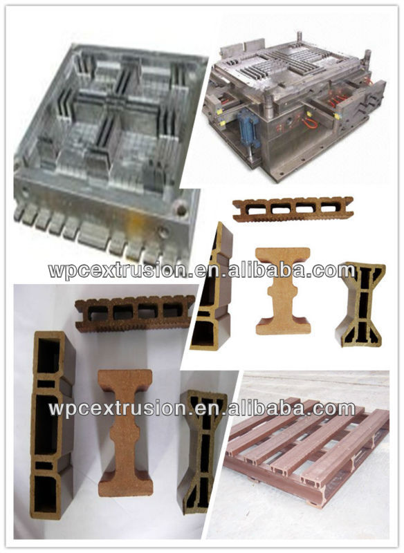 extrusion die for wpc sauna board wpc pallet