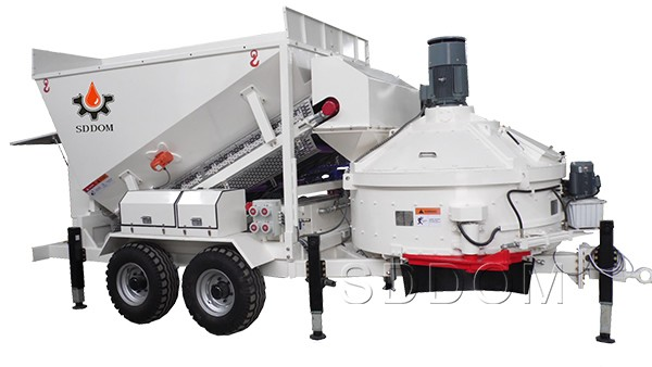 Mini Concrete Batch Plant : Mini batching plant ready mix concrete machinery