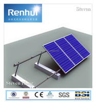 Cheap Solar PV Module brackets system 100kw /250kw /500kw Ground Solar mounting system ,solar ground pile or ram mounting system