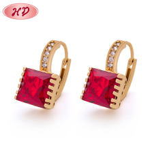 Buy Online Sample Design Gold Plating Big Diamond Jhumka Earrings for Women