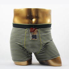 OEM stripe wholesale pictures of men without underwear boxer male underwear