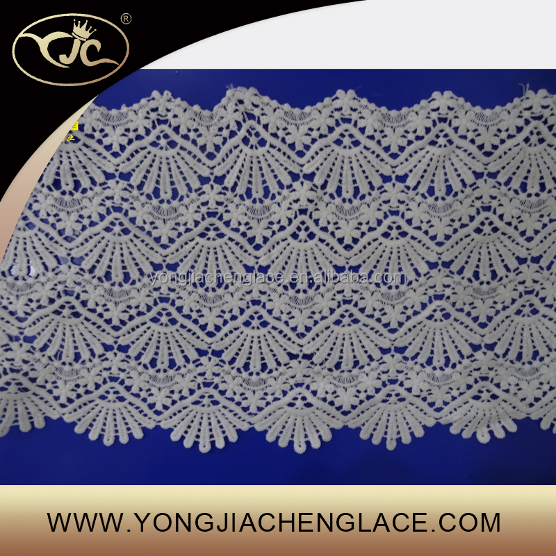 Yjc embroidery chantilly lace fabric in dubai buy