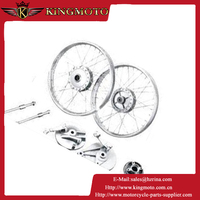 KINGTOMO Latest hot sale cheap red performance sport rim 14 inch