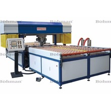 Automatic Horizontal CNC Glass Beveller Edger / Glass Grinding Machine
