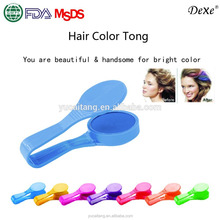 dexe new design hair chalk for hair coloring in 7colors christmas gift